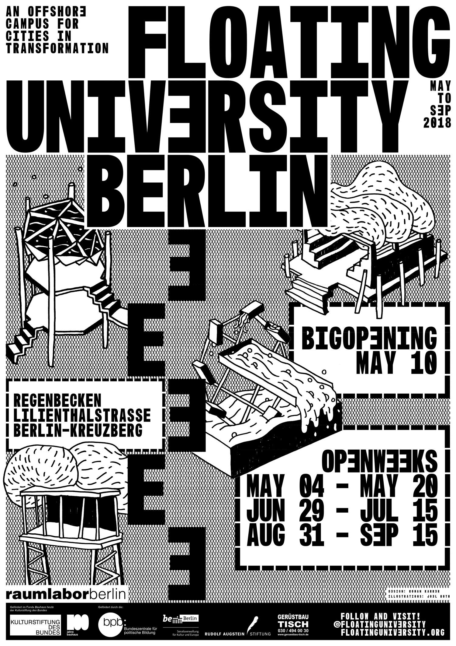 Floating University Poster 2018